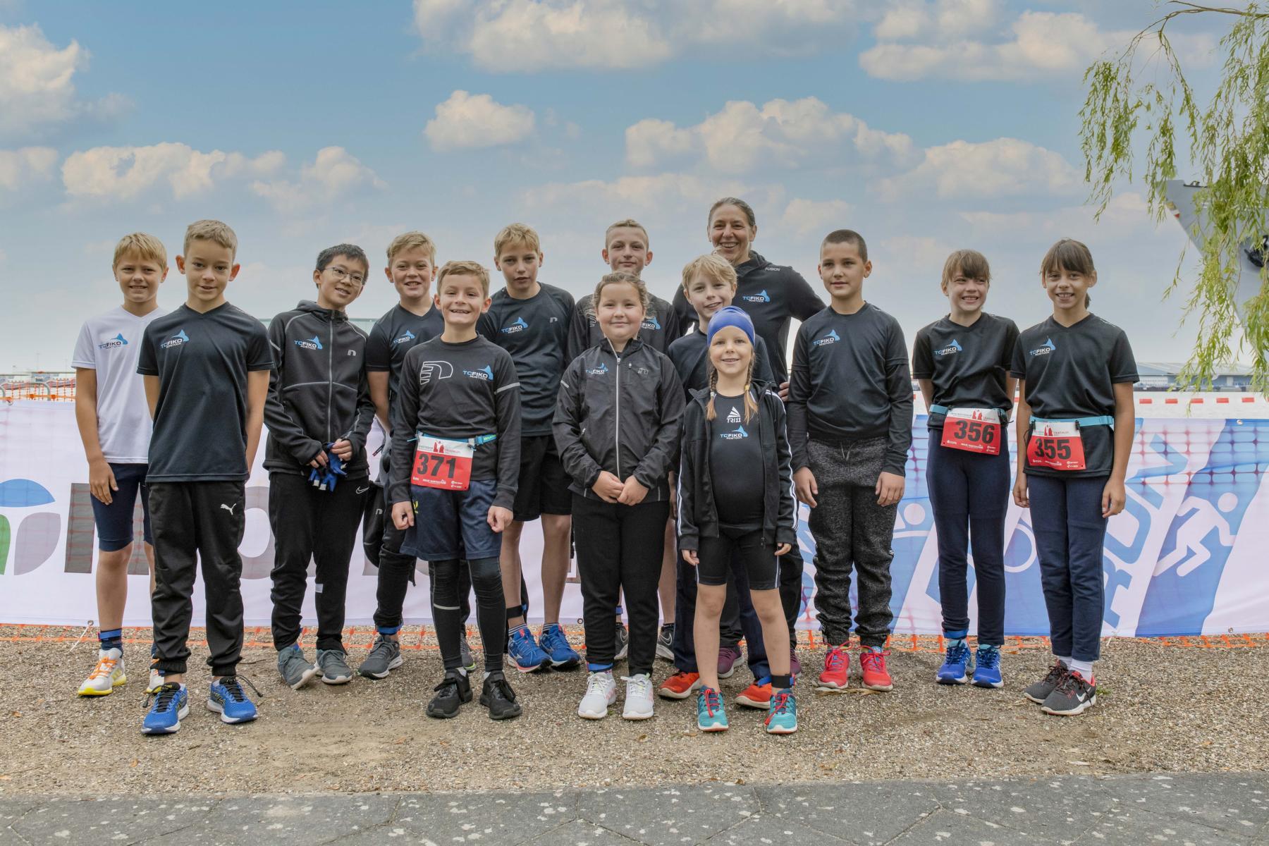 Der Fiko Nachwuchs beim Rostocker Triathlon