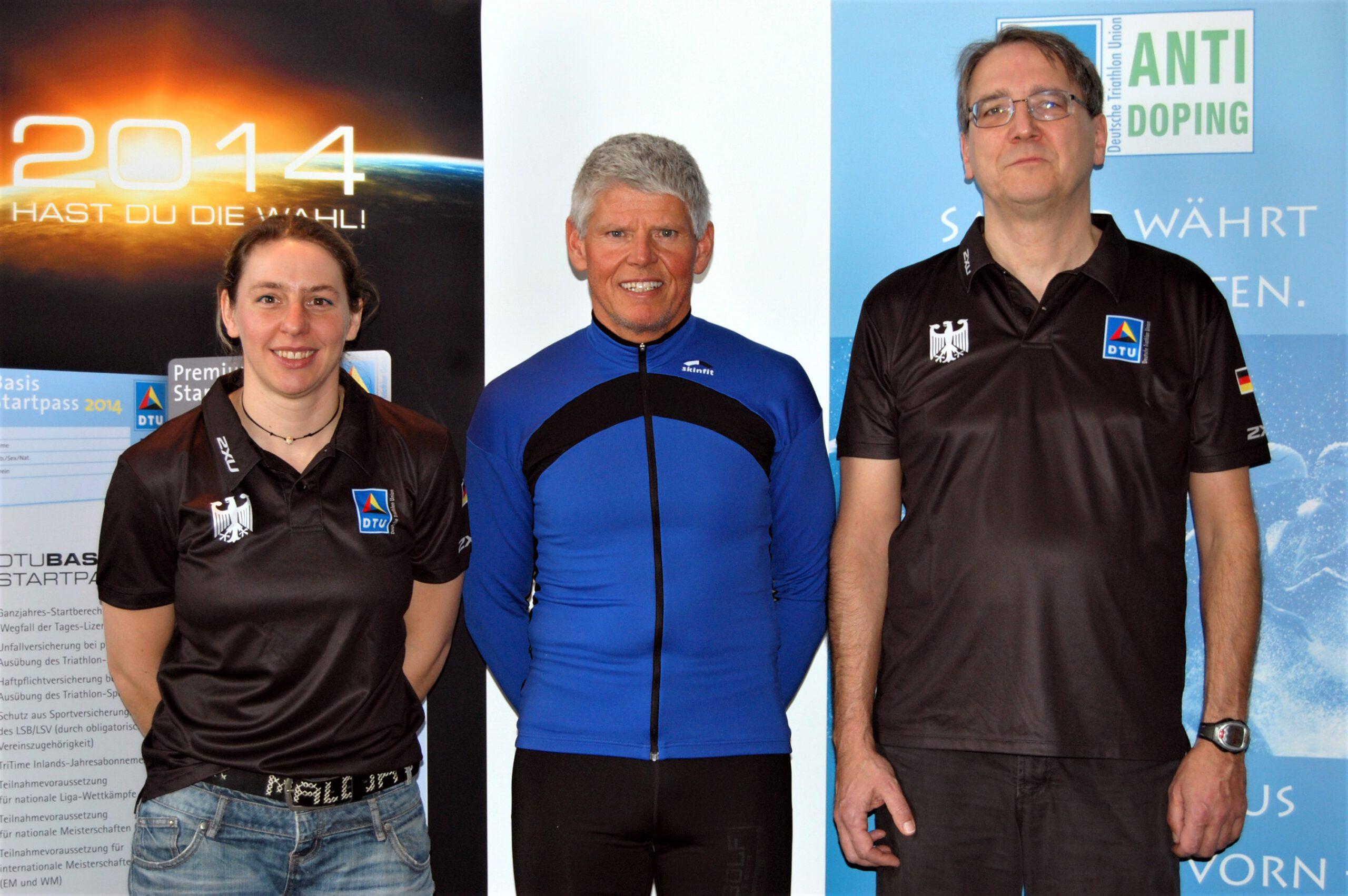 Abschluss des B-Trainer Lehrgang Langdistanz 2013 - mit Mario Muhren