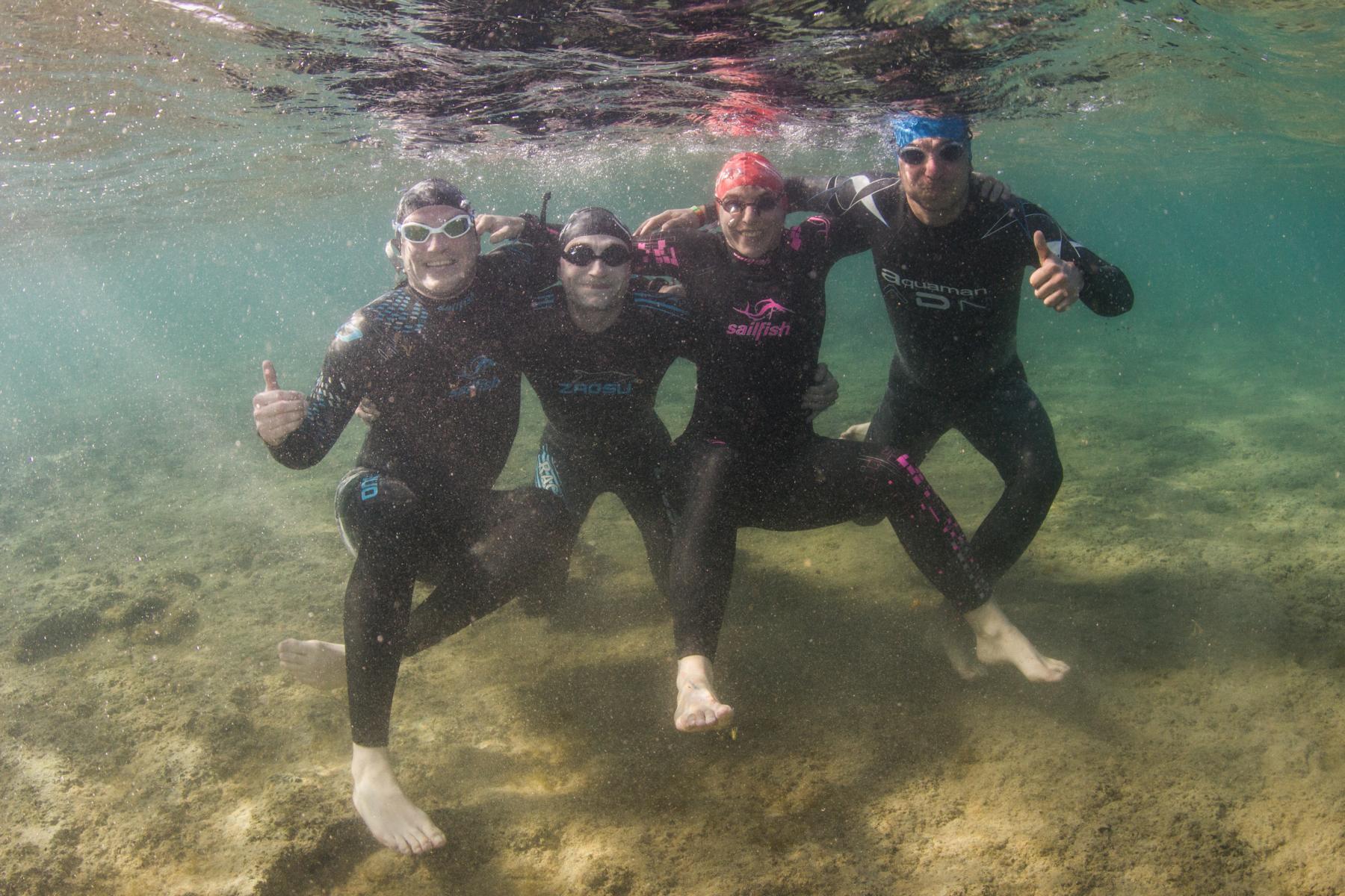 Freiwassersession-Pro.TrainingTours-Triathlon-Camp