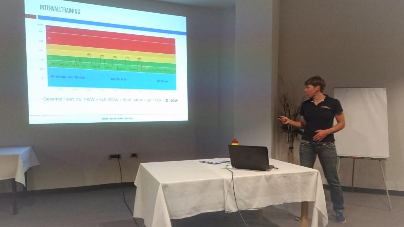 Vortrag Radtraining beim IstriaBike TriCamp